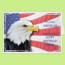 Niece, American birthday card