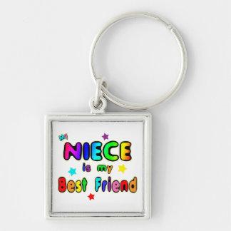 Niece Best Friend Keychain