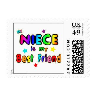 Niece Best Friend Postage Stamps