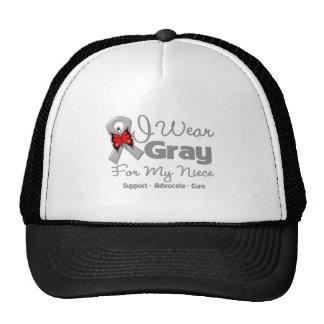 Niece - Gray Ribbon Awareness Hats