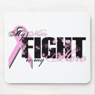 Niece Hero - Fight Breast Cancer Mouse Pad