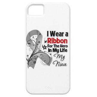 Niece Hero in My Life Brain Cancer iPhone 5 Cases