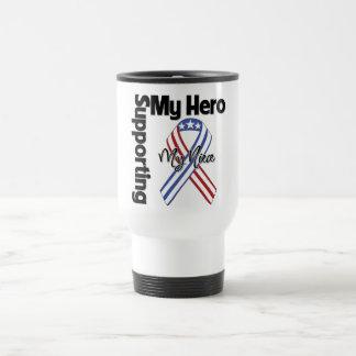 Niece - Military Supporting My Hero Travel Mug