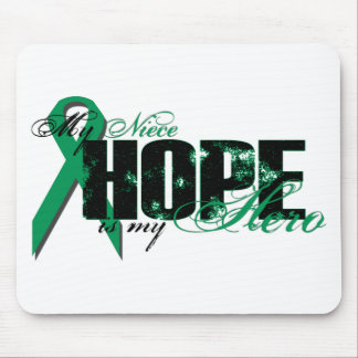 Niece My Hero - Kidney Cancer Hope Mouse Pad