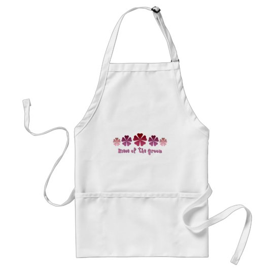 Niece of the Groom Adult Apron