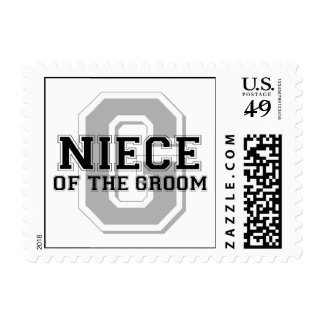 Niece of the Groom Cheer Stamps