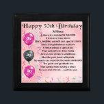 "Niece Poem - 30th Birthday Keepsake Box<br><div class=""desc"">A great gift for a niece on her 30th birthday</div>"