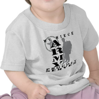 Niece Proudly Serves - ARMY Tee Shirt
