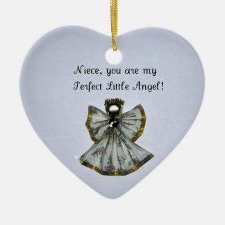 Niece, you are my .... ceramic ornament