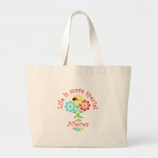 Nieces are Special Large Tote Bag