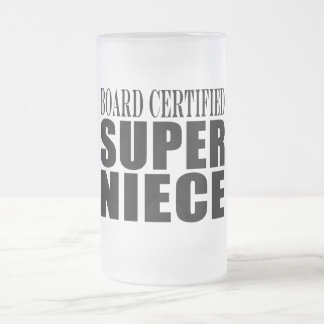 Nieces Birthday Party Board Certified Super Niece Coffee Mugs
