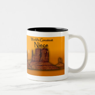 Niece's Loving Hands Gold Mug