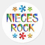 NIECES ROCK STICKER