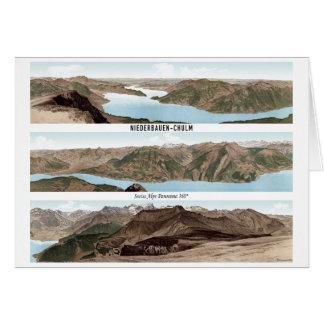 NIEDERBAUEN-CHULM Swiss Alps Panorama 360° Card