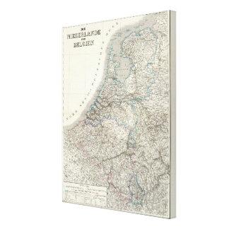 Niederlande, Belgien - Netherlands, Belgium Canvas Print
