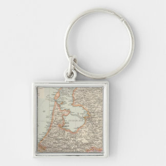 Niederlande - Netherlands Map Key Chain