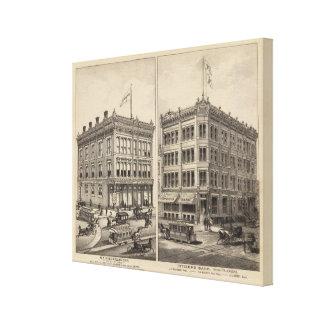 Niederlander and Citizens Bank, Wichita, Kansas Canvas Print