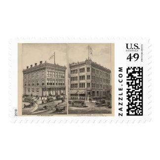 Niederlander and Citizens Bank, Wichita, Kansas Stamp