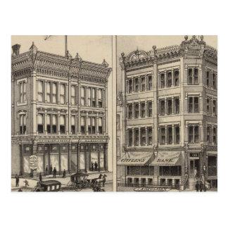 Niederlander and Citizens Bank, Wichita, Kansas Postcard