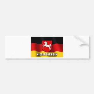 Niedersachsen coat of arms bumper sticker