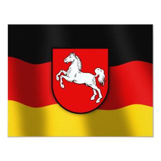 Niedersachsen coat of arms card