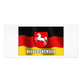 Niedersachsen coat of arms custom rack cards