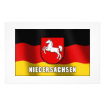 Niedersachsen coat of arms stationery paper