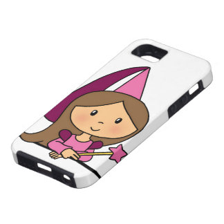 Niedliche Cartoon-Klipp-Kunst-Prinzessin in einem  iPhone SE/5/5s Case