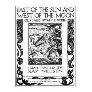 Nielsen al este del Sun y al oeste de la luna Tarjeta Postal