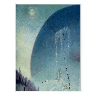 Nielsen al este del Sun y al oeste de la luna: Tarjetas Postales