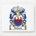 Nielsen Family Crest Mouse Pad