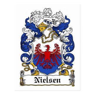 Nielsen Family Crest Postcard