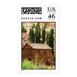 Nielsen Grist Mill Postage Stamp