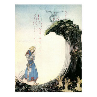 Nielsen's East of the Sun and West of the Moon Postcard