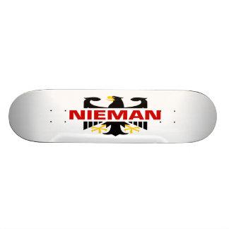 Nieman Surname Skateboard Deck