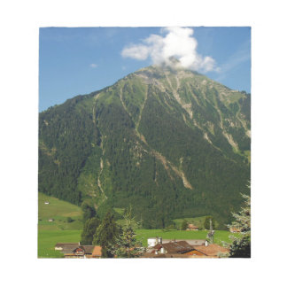 Niesen mountain, Switzerland Note Pad
