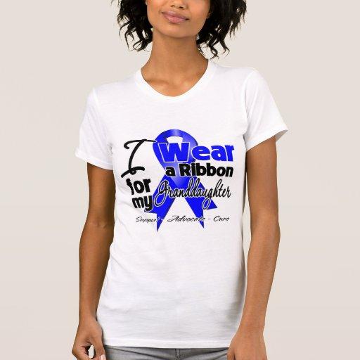 Nieta - cinta del cáncer de colon camisetas