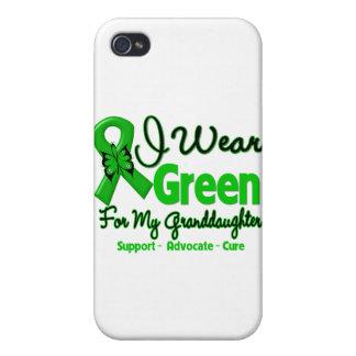 Nieta - cinta verde de la conciencia iPhone 4/4S funda