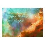 Nieta del cumpleaños - la nebulosa de Omega Tarjeton
