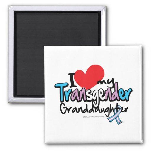 Nieta del transexual imán para frigorifico