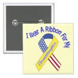 Nieta - llevo un patriótico militar de la cinta pin