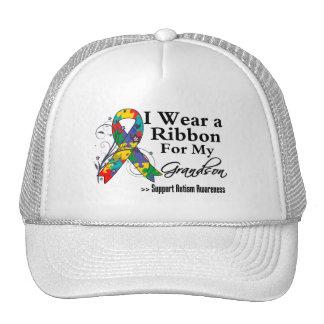 Nieto - cinta del autismo gorras de camionero