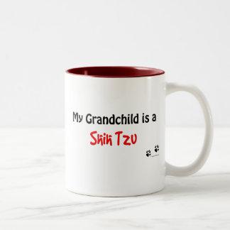 Nieto de Shih Tzu Taza