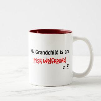 Nieto del Wolfhound irlandés Taza De Café