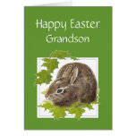 Nieto lindo feliz del Special del conejito de Pasc Tarjetas