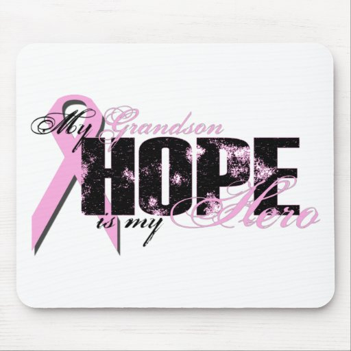 Nieto mi héroe - esperanza del cáncer de pecho tapete de ratones