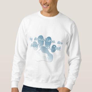 Nietos lisos del collie suéter