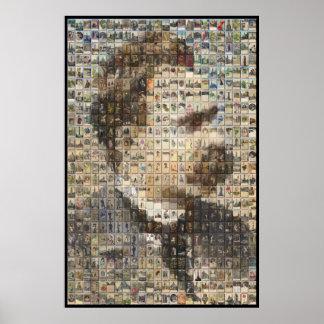 Nietzsche 24x24 en 3D Posters