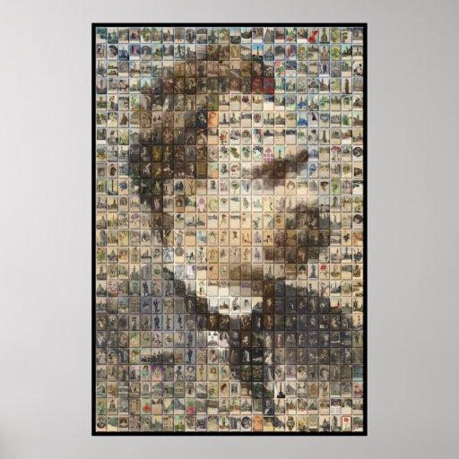 Nietzsche 24x24 en 3D Póster