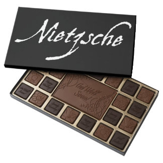 """NIETZSCHE"" 45 PIECE BOX OF CHOCOLATES"